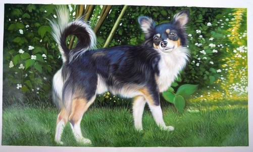 Custom Pet Portrait,Oil Portrait Painting On Canvas,Original Hand Painted Oil Painting From Photo