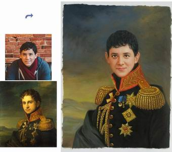 Custom Oil Portrait,Paint Face On Famous Painting,Original Hand Painted Oil Painting From Photo,Royal Portrait painting etc